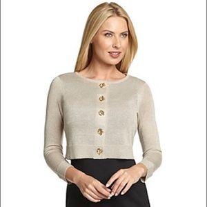 large Calvin Klien nwot gold toggle sweater